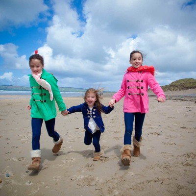 Beach family portraits, banna, co.kerry