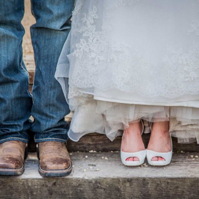 Wedding couples shoes