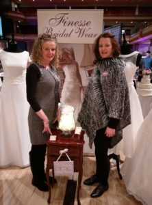 Liz and Mags from Finesse bridalwear