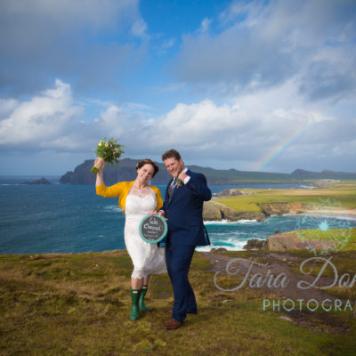 Canadian couple wed in Dingle