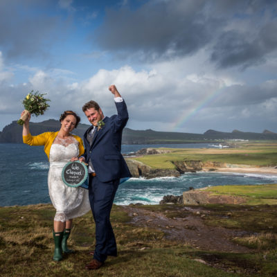 newly weds in Dingle