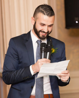 Best man's speech….